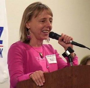 Medea Benjamin, co-founder of Codepink