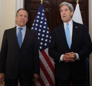 Russia Foreign Minister Sergey Lavrov and US Secretary of State John Kerry, photo U.S. Dept of State