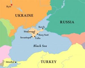 Map Crimea