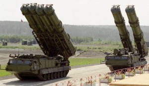 Russian S-300 air defense missile system