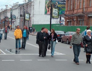 Street scene in Kyiv, photo Flikr Commons