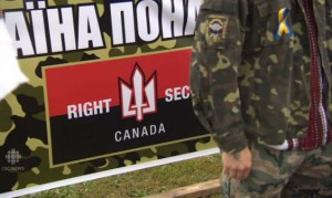 Right Sector in Toronto Aug 23, 2014
