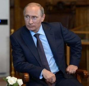 Vladimir Putin in Yalta, Crimea, Aug 14, 2014