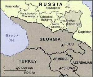 Map Caucasus