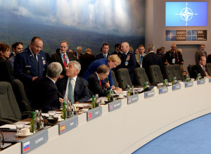 Meeting of defense ministers at NATO summit meeting in Wales, summer 2014, photo by NATO Summit Wales