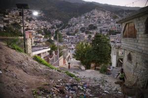 Campeche neighborhood in Port-au-Prince (photo Marie Arago, NPR)