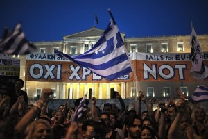 Athens on June 29, 2015 (Fotis Plegas, EPA )