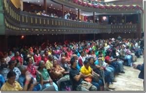 Communal Parliament meets in Caracas, Venezuela on Dec 23, 2015