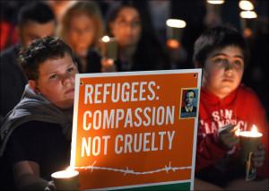Vigil in Australia following the drowning of 3-year old Syrian Alan Kurdi in Mediterranean Sea on Sept 2, 2015 (Flikr Commons)