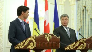 Canadian Prime Minister Justin Trudeau on official visit to Ukraine on July 11, 2016 (photo by Office of the Prime Minister)
