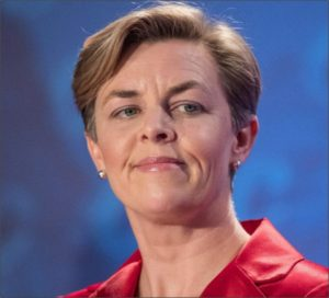 Conservative Party of Canada leadereship candidate Kelly Leitch wants to exclude immigrants who fail testing for 'Canadian values' (Liam Richards, CanadianPress)