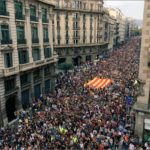 General strike and massive protests in Catalonia on October 3 protesting Spanish state violence