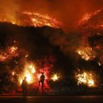 Wildfires raging out of control in and around Los Angeles, southern California