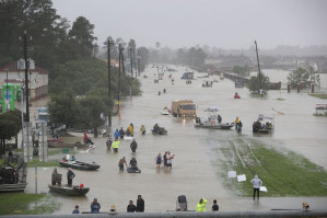Global warming disaster strikes Houston, Texas, flooding fourth-largest U.S. city