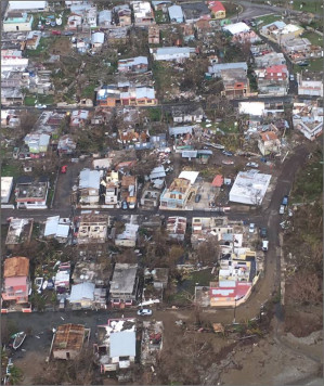 Humanitarian crisis looms in U.S. colony of Puerto Rico in aftermath of Hurricanes Maria and Irma