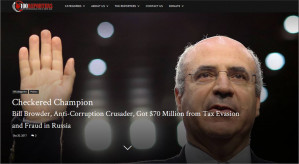 ​Mainstream media in U.S. and Canada caught out as U.S. reporting project sheds unfavourable light on UK citizen financier and campaigner Bill Browder