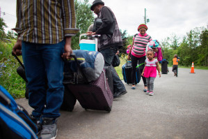 Racist reports in Canada's mainstream media warn of Haitians 'swamping' U.S.-Canada border crossings