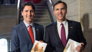 An austerity and militaristic government budget in Canada