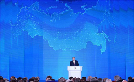 Vladimir Putin's speech on March 1, 2018: 'Are you listening, America?'