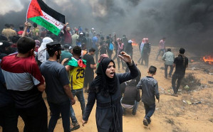 Israel's horrific massacre of Palestinians in Gaza on May 14, 2018