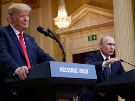 War propaganda and the July 16, 2018 summit meeting in Helsinki, Finland of Donald Trump and Vladimir Putin