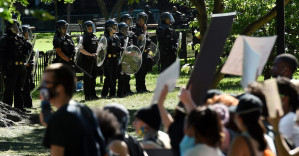 Defund the police, defund the military