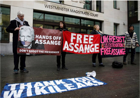 Julian Assange show trial in Britain: Why the U.S. government wants him silenced