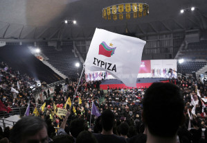 The new left-wing party and government in Greece