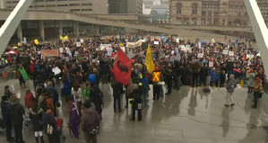 Thousands across Canada protest 'police state' Bill C-51