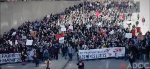 In Montreal, 75,000 march against austerity on April 2