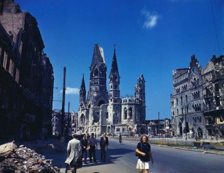 Post-war Berlin, the summer of 1945