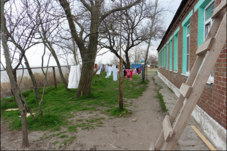 Wars and displaced persons camps, in Ukraine and in Haiti