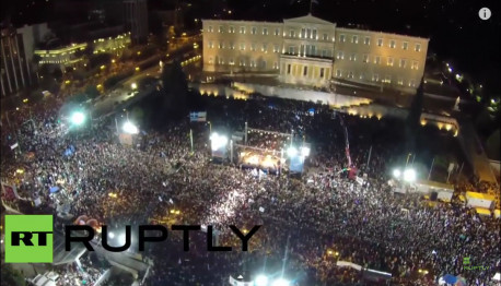 Huge 'No' rally in Athens July 3 on eve of EU austerity-blackmail referendum