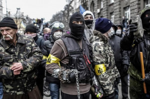 Canadian journalist writes from Ukraine praising extreme-right paramilitaries