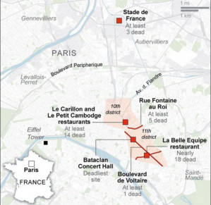 The November 13 terrorist attack in Paris