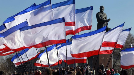 Blockade of Crimea by Ukrainian extremists receives support from by 'socialist' grouping in U.S.