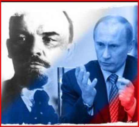 Vladimir Putin's comments on V.I. Lenin and the Russian Revolution of 1917