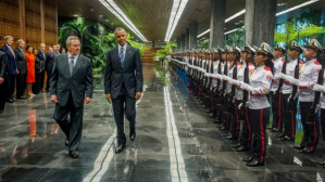 Reader on President Barak Obama's official visit to Cuba March 20-22, 2016