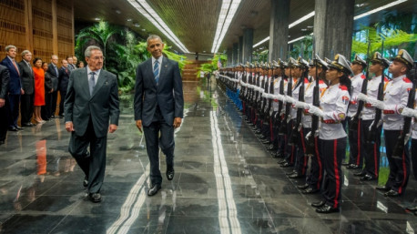 Reader on President Barak Obama's official visit to Cuba March 20-22, 2016