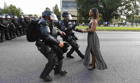 'I took a stand in Baton Rouge'