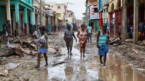 Risk that another round of disaster aid to Haiti will reinforce U.S. domination